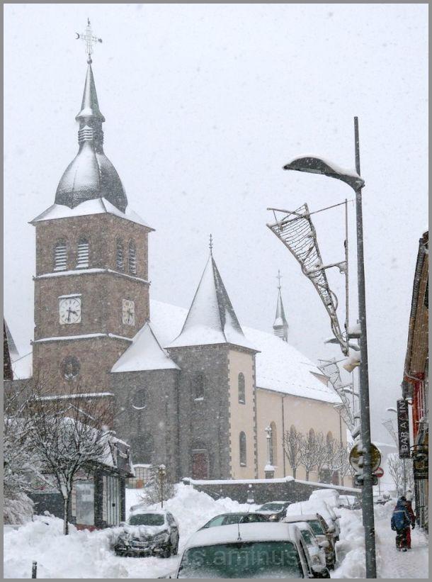 La Bresse, station de sports d'hiver