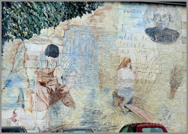 Un village de vanniers : Villaines les Rochers