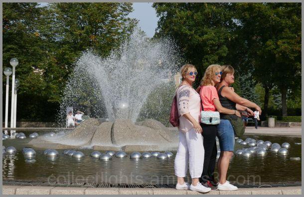 Des touristes en goguette