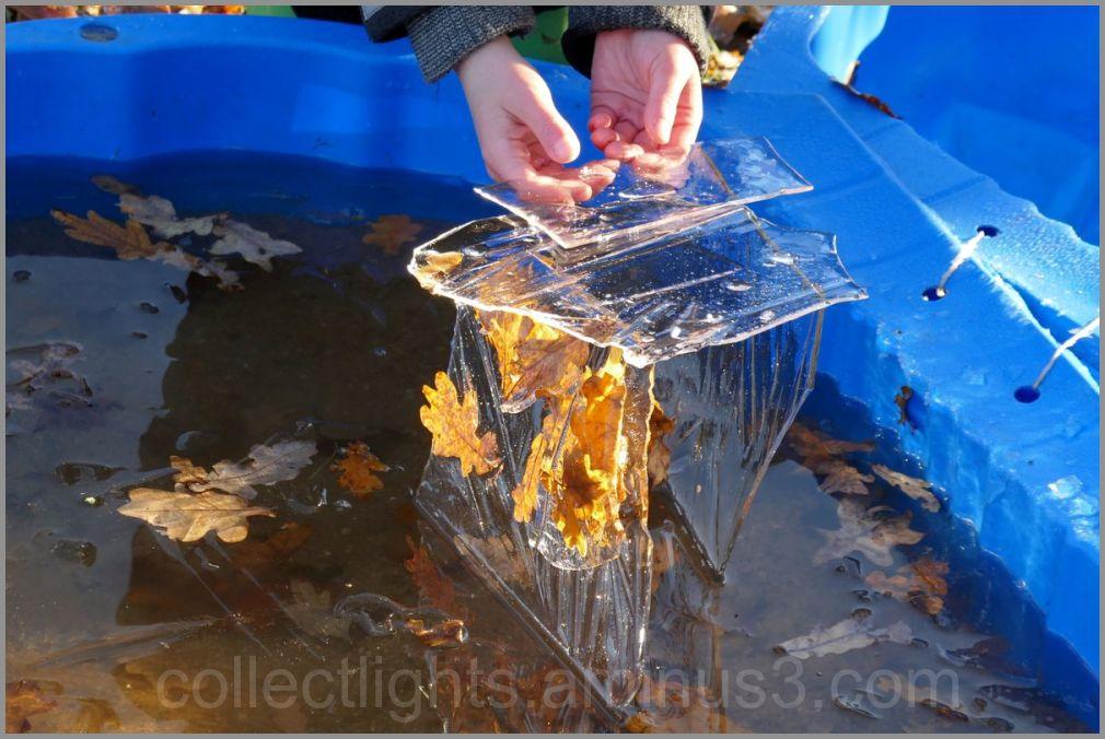 Construction de glace pour architecte en herbe !