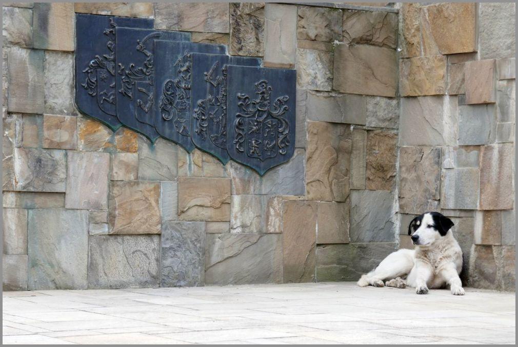 Le gardien du monument