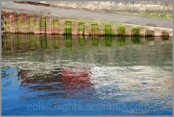 Reflets entre deux marées