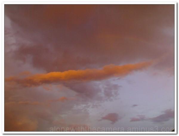 Colour in Sky...