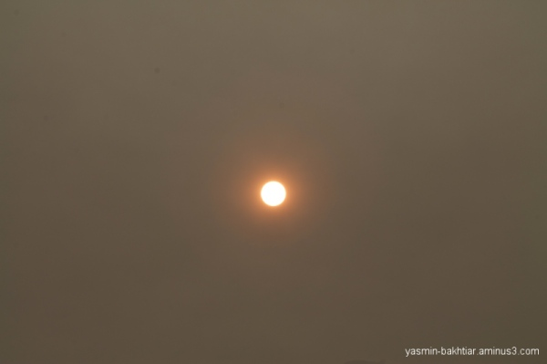 Sun - Vancouver was in fire