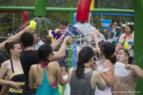 Vancouver Water fight #3