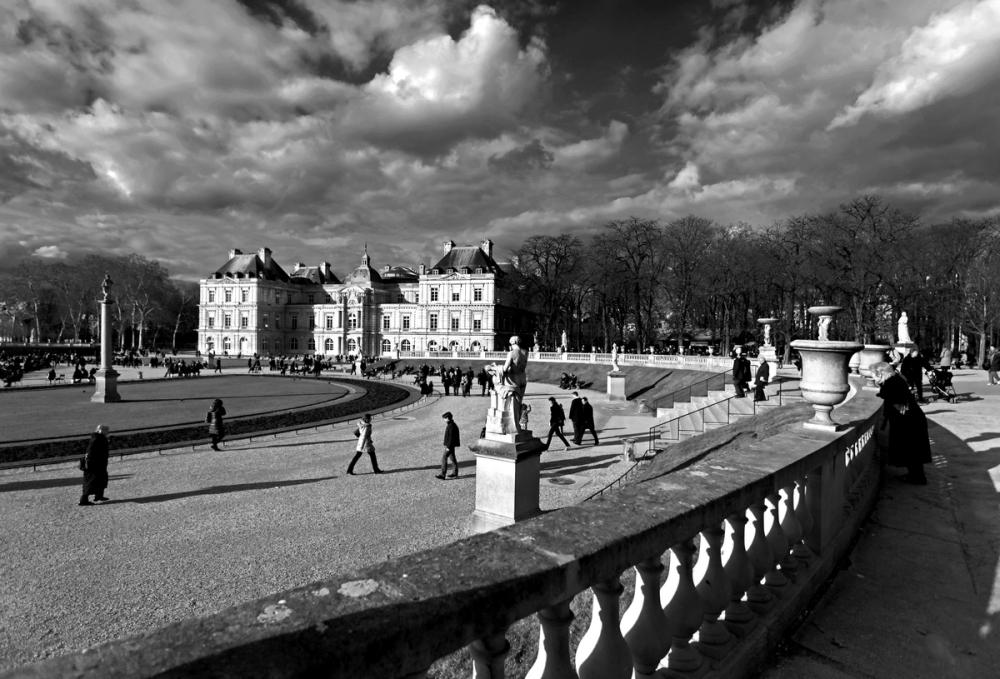 Jardin du Luxembourg  Le Sénat