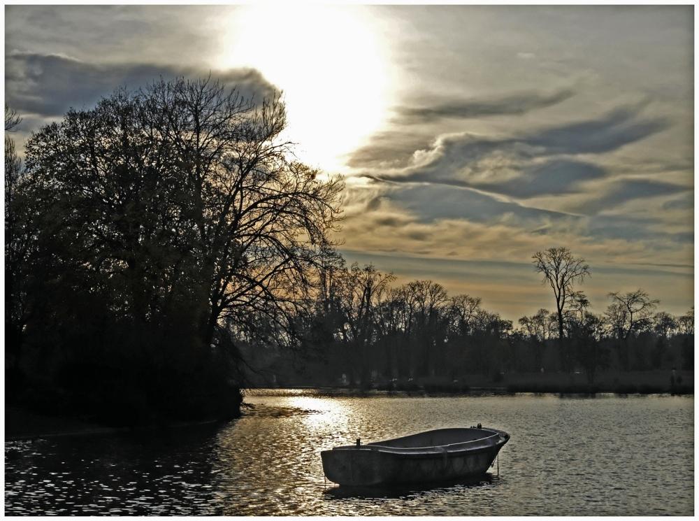 La barque aboandonnée