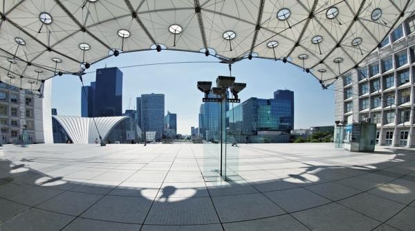 La Défense Panorama sous couverture