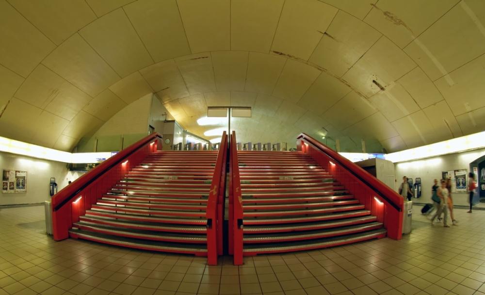 RER Le grand escalier