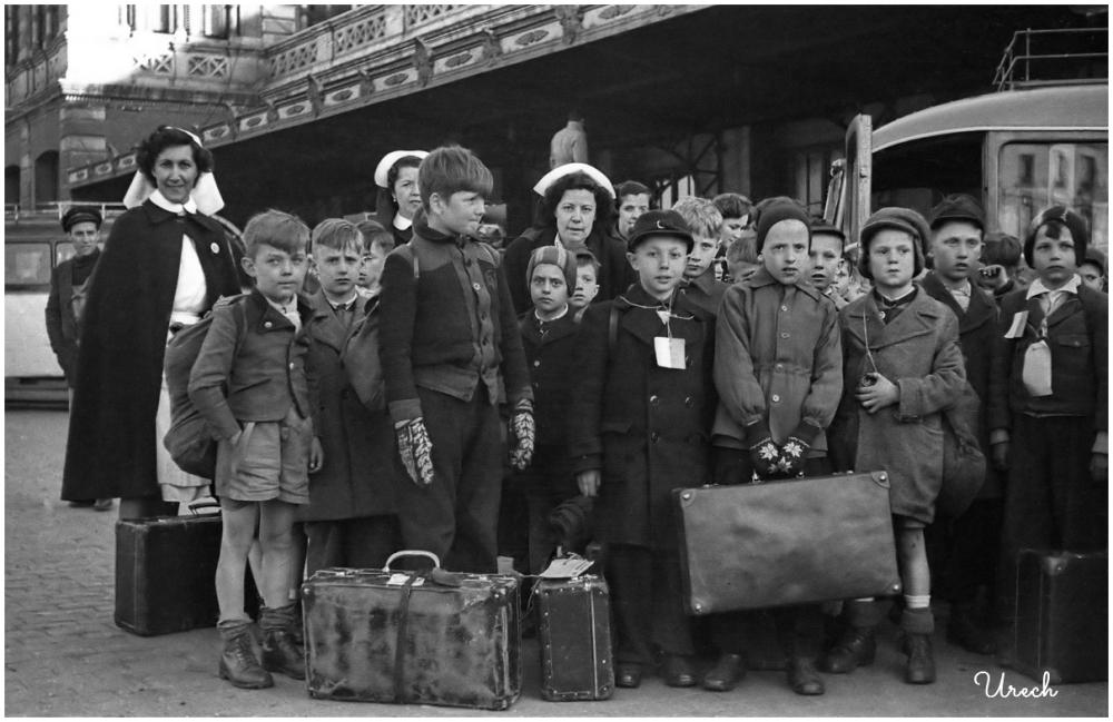 Niños austriacos llegan a Madrid