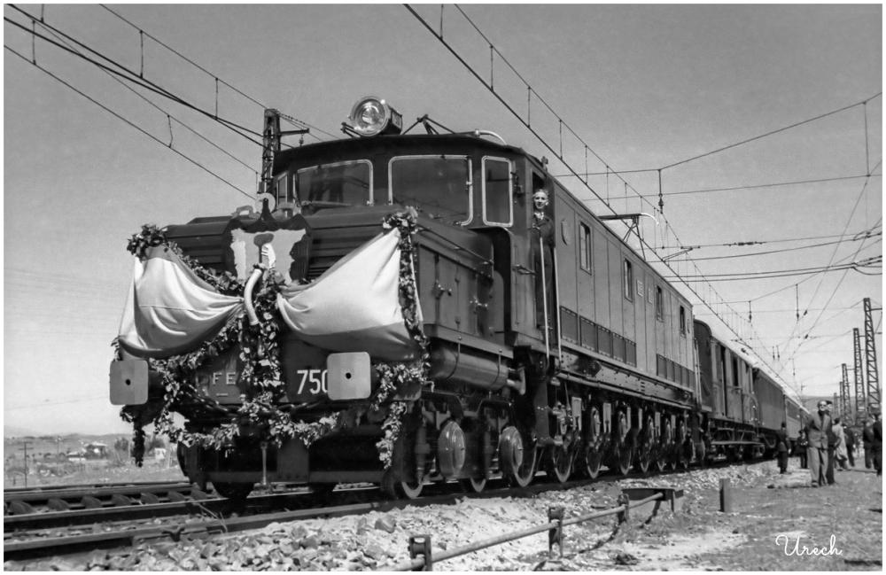 Inauguración tren electrificado