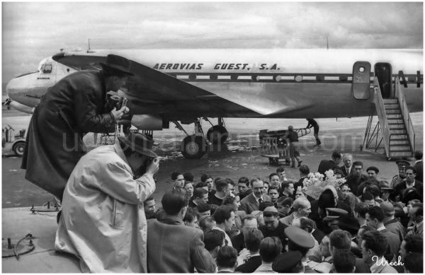 La Virgen de Guadalupe llega a Madrid en avión