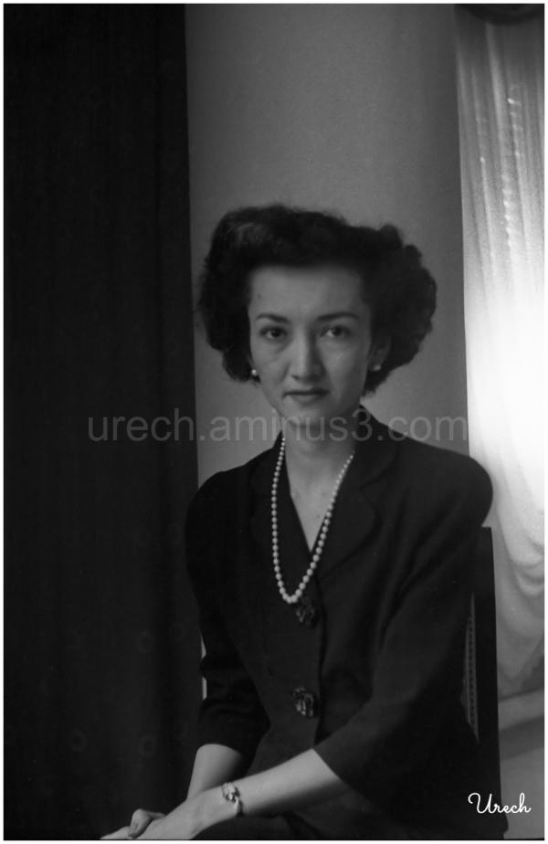 Retrato de María Aurora Quezón. Año 1948