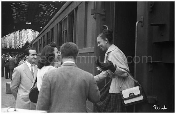 Josephine Baker llega a Madrid