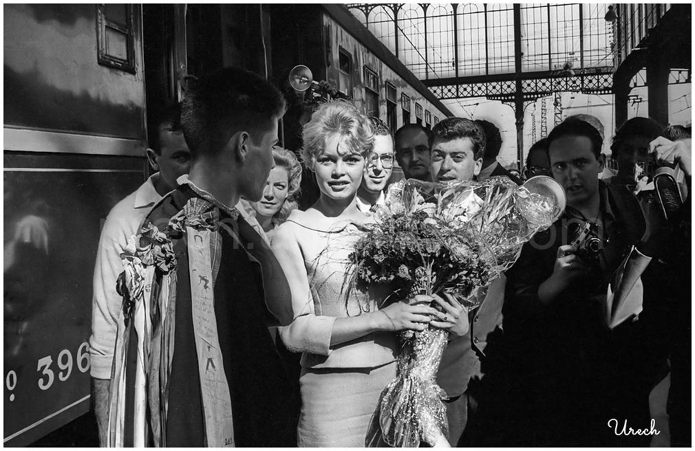 Brigitte Bardot llega a Madrid