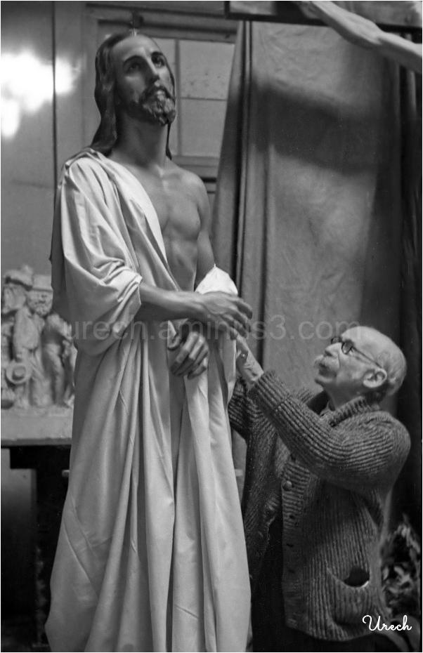 Mariano Benlliure y su escultura Nazareno