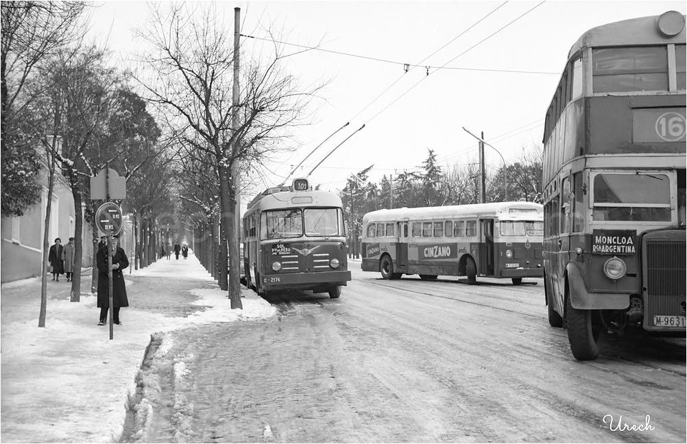 Autobuses con problemas por el hielo