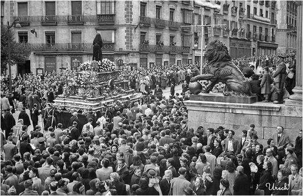 Procesión del Cristo de Medinaceli en Viernes Sant