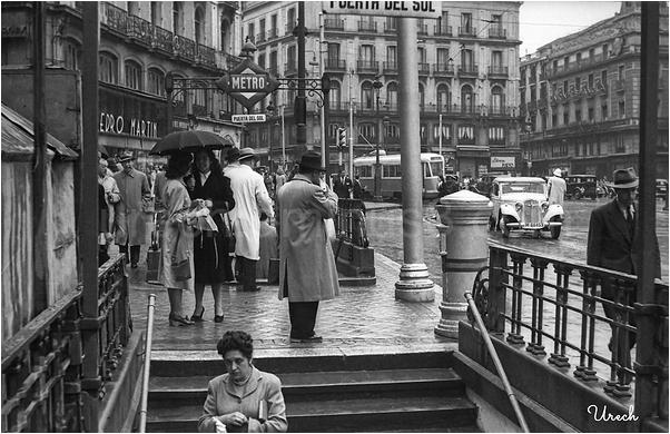 Entradas al metro de Puerta del Sol