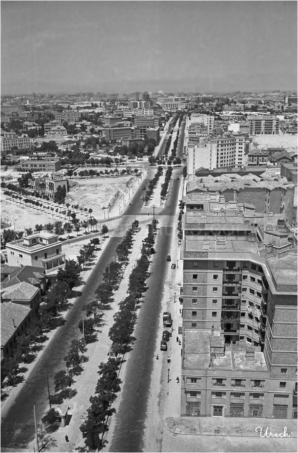 Vista panorámica de la calle Francisco Silvela