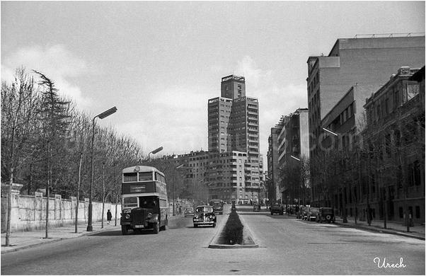Autobus por la calle María de Molina