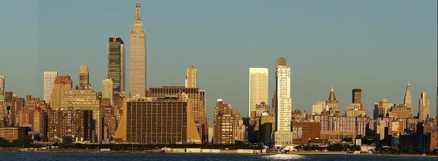 new york, ny city @ dusk