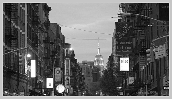Mulberry St, Downtown NY
