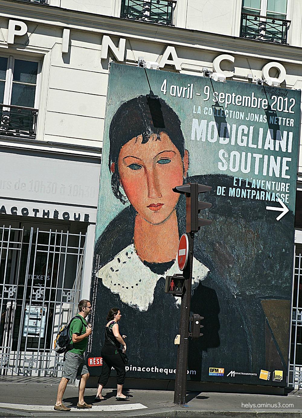 Touristes sous la publicité, Paris 2012