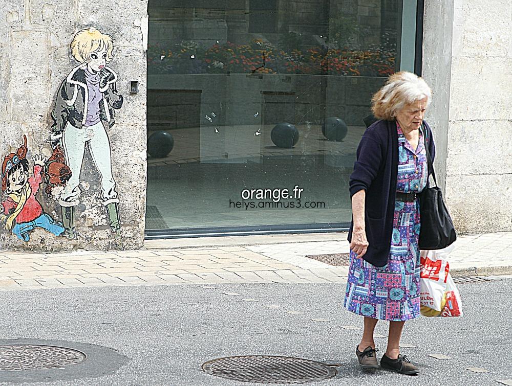 Une rue d'Angoulême, 2012