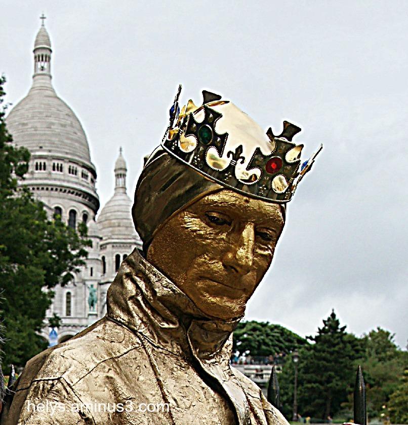 le roi de montmartre, paris