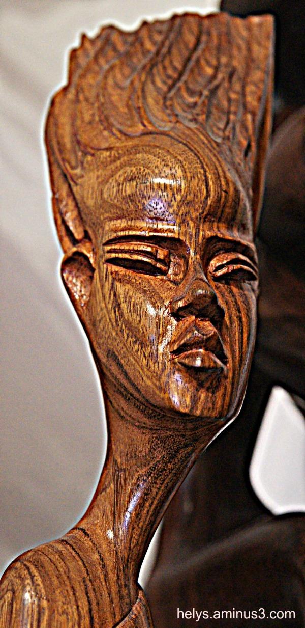 Sculpture Madagascar Island