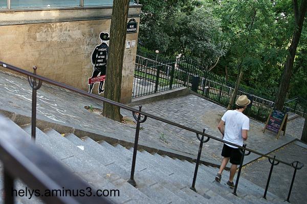 Montmartre stpes