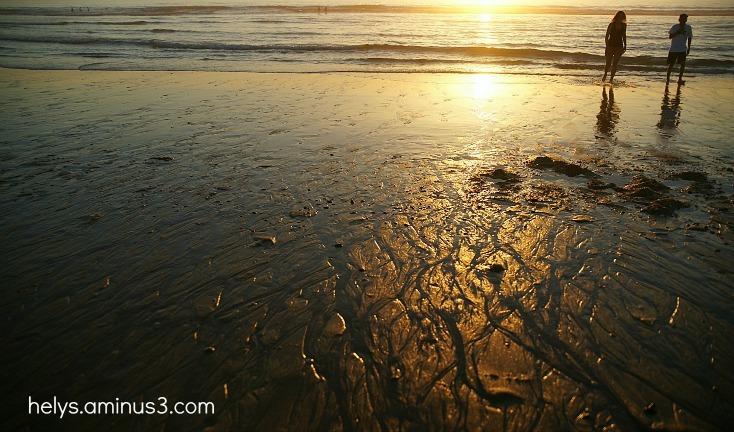 Sun on the seaside