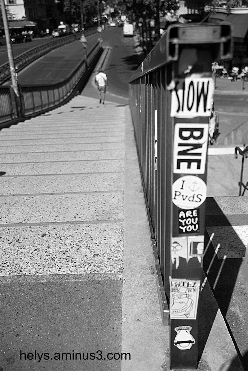 paris: down stairs
