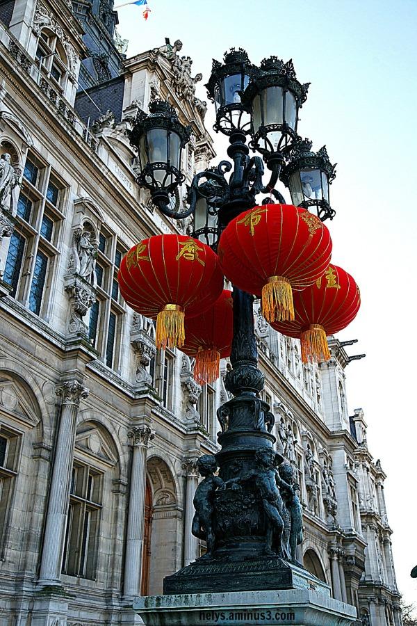 Fanals, hôtel de ville Paris