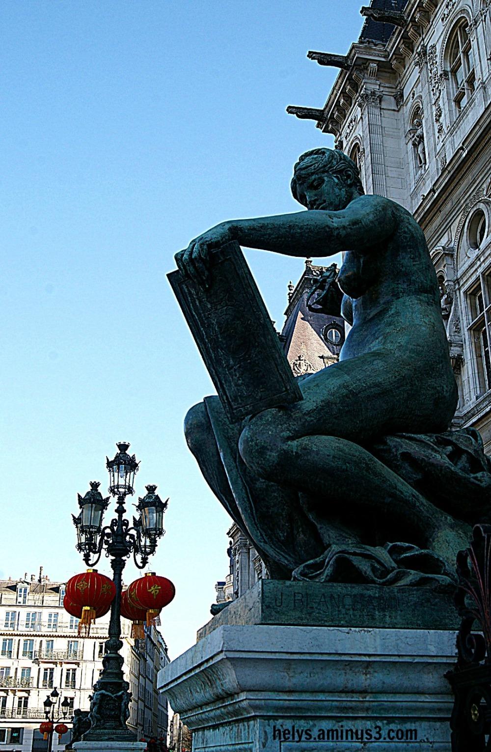 Hôtel de ville Paris, nouvel an lunaire 201