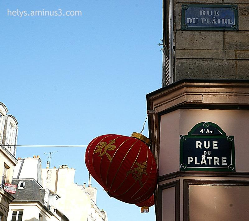 New lunar year 2014 in Paris