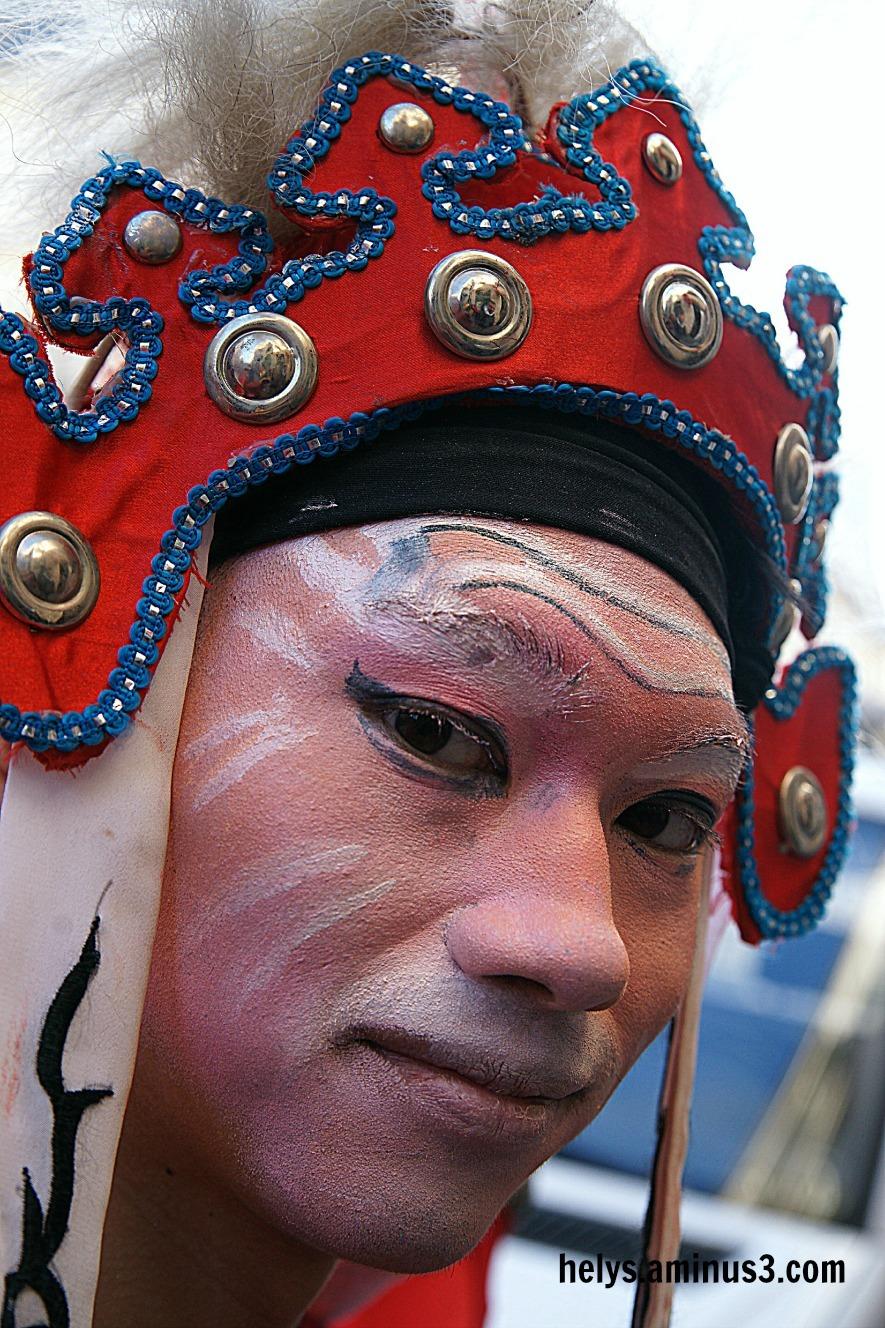 Masque d'un mandarin