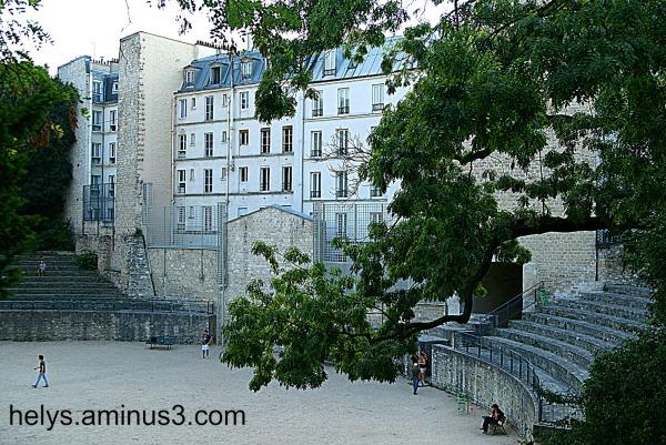 Arènes, Lutèce Paris1