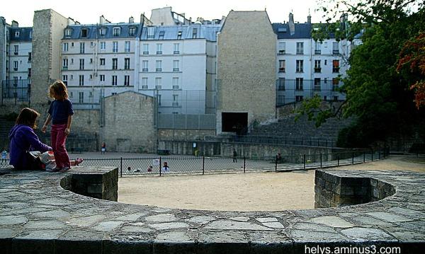 Arènes, Lutèce Paris2