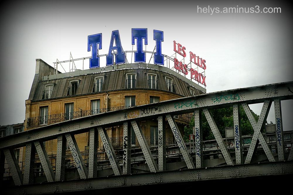 Paris: Tati store