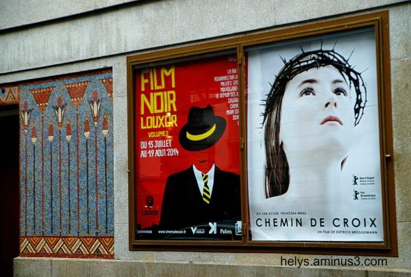 Paris: On stage in Louxor cinema 2014