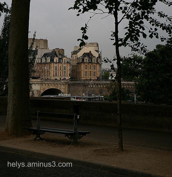 Paris: Close to the Seine river