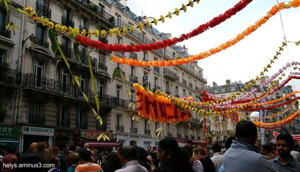 Ganesh party, Paris 2014: Colors3
