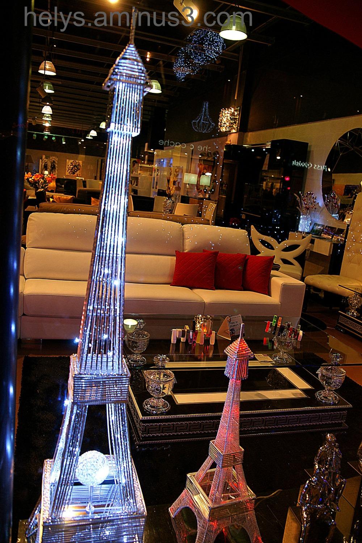 Paris: Eiffel Tower lampS