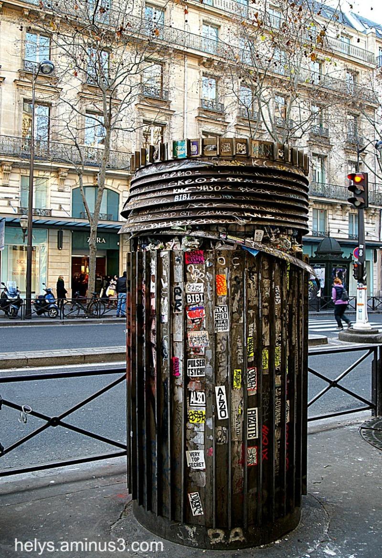 Paris: Vandals or Art?