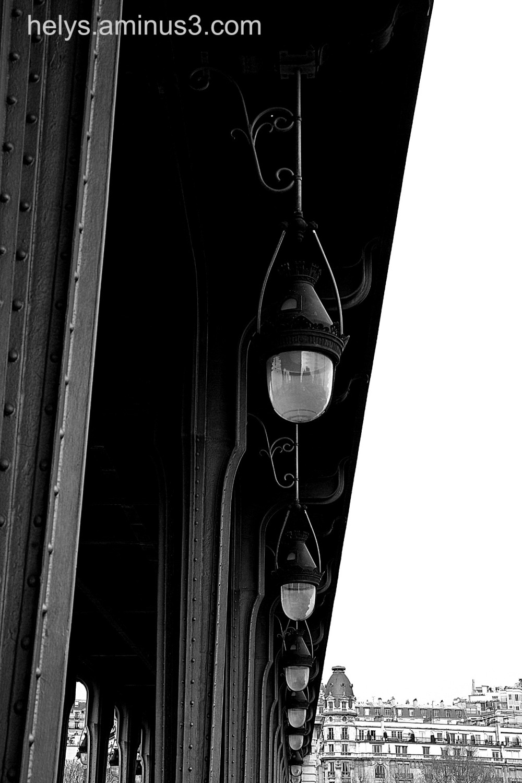 urban lamps in Paris