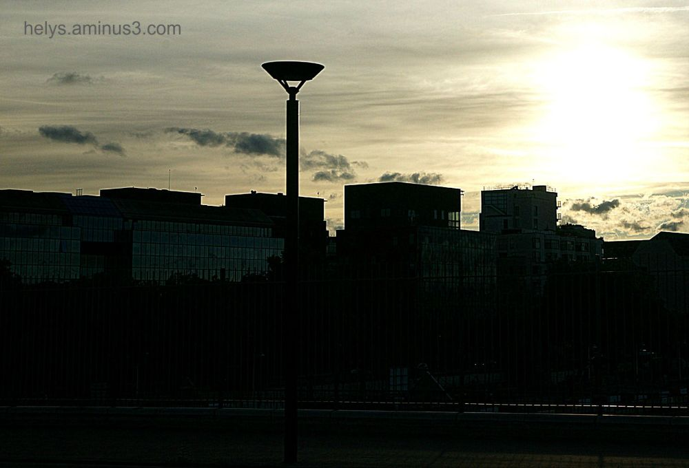 sunset in Paris13e/2