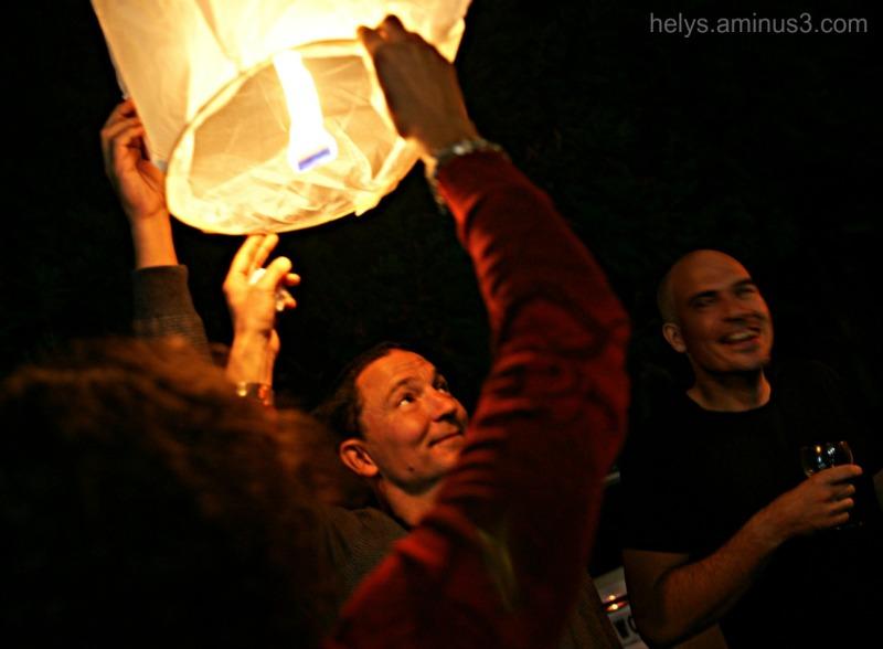 All around the light9