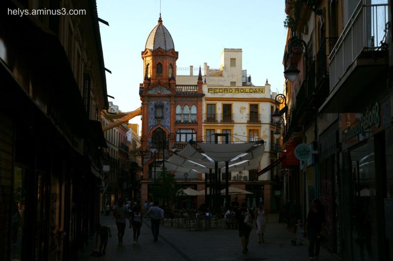 building in Sevilla